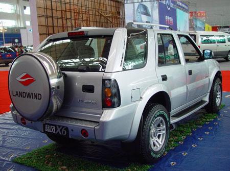 【汽车】陆风X6龙腾版两驱舒适型图片,点击查看真实图片