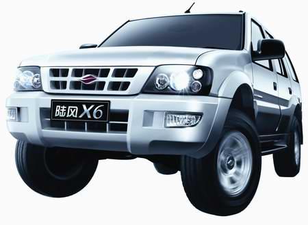 【汽车】陆风X62.4L四驱标准型(舒适版)图片,点击查看真实图片